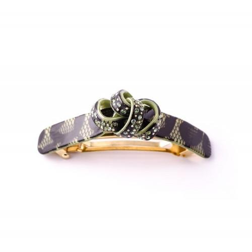 Barrette matic 8cm Collector MM Light trois anneaux
