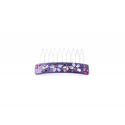 Barrette matic 11cm Noeuds lacets MM Simple noeud lacet