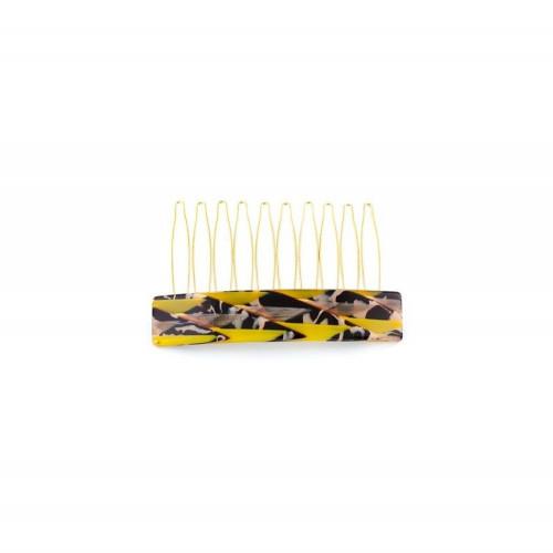 Barrette matic 8cm Hippocampes GM Light, Filet hippocampes en famille